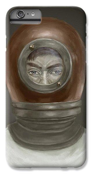 Self Portrait IPhone 6s Plus Case by Balazs Solti