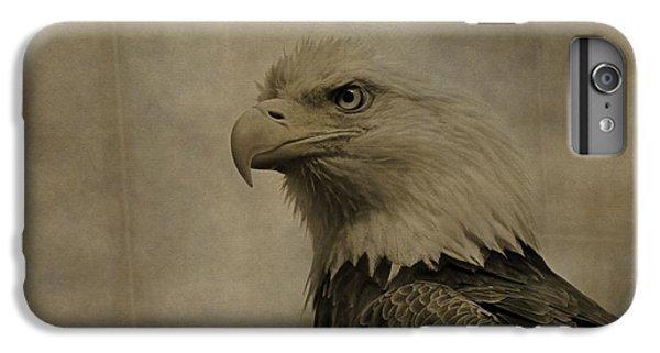 Sepia Bald Eagle Portrait IPhone 6s Plus Case by Dan Sproul