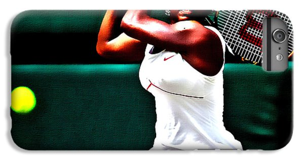 Serena Williams iPhone 6s Plus Case - Serena Williams 3a by Brian Reaves