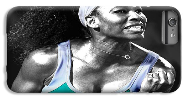 Serena Williams iPhone 6s Plus Case - Serena Williams Ace by Brian Reaves
