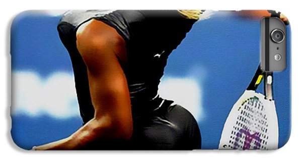 Serena Williams iPhone 6s Plus Case - Serena Williams Catsuit II by Brian Reaves