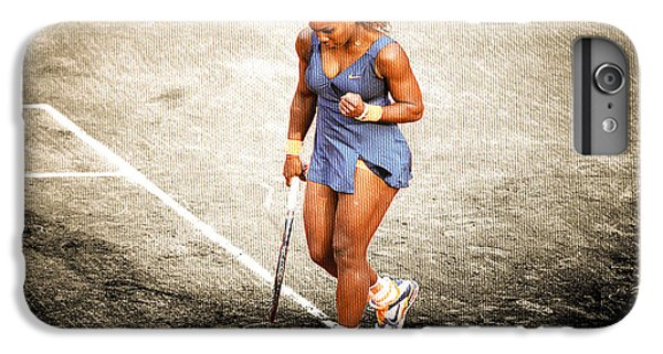 Serena Williams iPhone 6s Plus Case - Serena Williams Count It by Brian Reaves