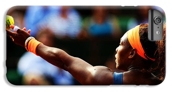 Serena Williams iPhone 6s Plus Case - Serena Williams by Srdjan Petrovic