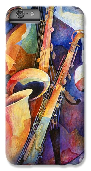 Saxophone iPhone 6s Plus Case - Sexy Sax by Susanne Clark