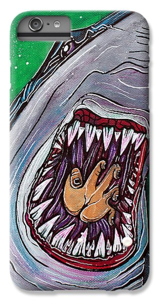 Shark Kill Zone IPhone 6s Plus Case by Laura Barbosa