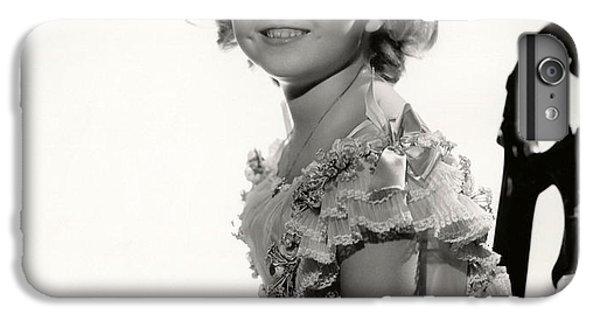 Shirley Temple Portrait IPhone 6s Plus Case