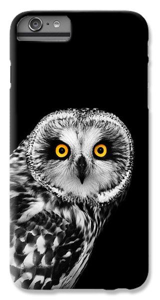 Falcon iPhone 6s Plus Case - Short-eared Owl by Mark Rogan