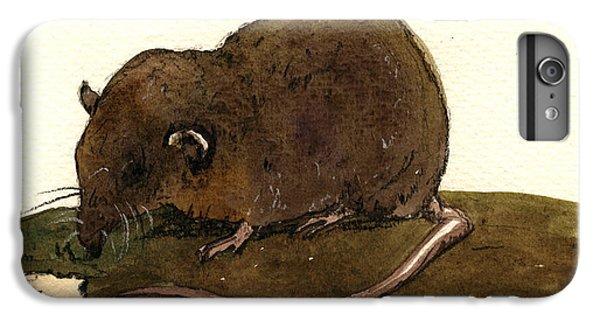 Mice iPhone 6s Plus Case - Shrew Mouse by Juan  Bosco