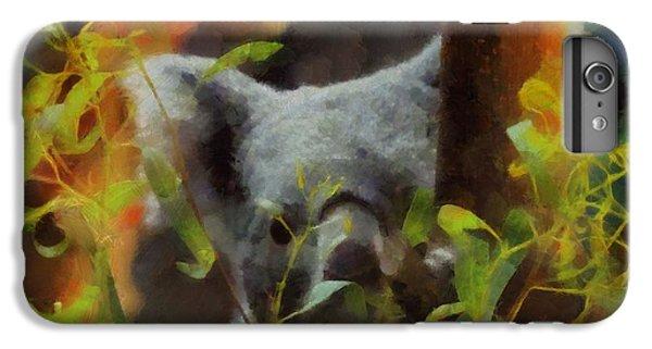 Shy Koala IPhone 6s Plus Case by Dan Sproul