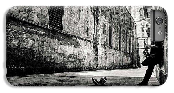 Saxophone iPhone 6s Plus Case - Silent Street by Gertjan Van Geerenstein