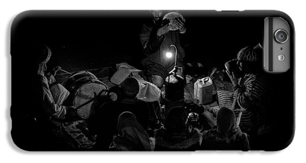 Drum iPhone 6s Plus Case - Singing To The Night by Angel Bernaldo De