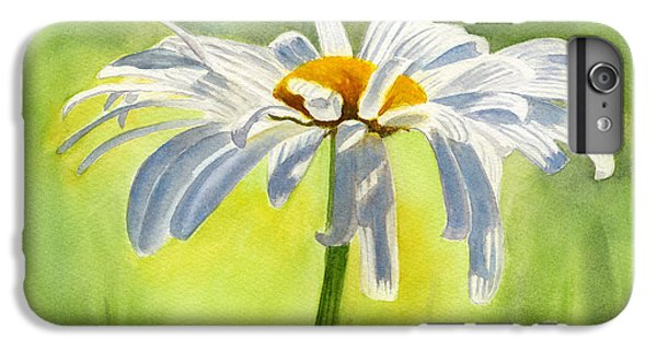 Single White Daisy Blossom IPhone 6s Plus Case