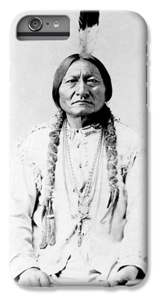 Landmarks iPhone 6s Plus Case - Sioux Chief Sitting Bull by War Is Hell Store