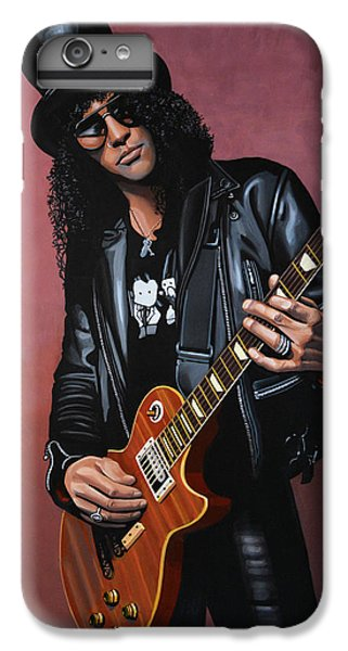 Musicians iPhone 6s Plus Case - Slash by Paul Meijering