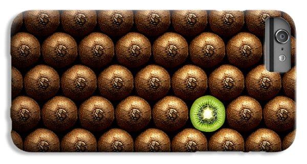 Kiwi iPhone 6s Plus Case - Sliced Kiwi Between Group by Johan Swanepoel