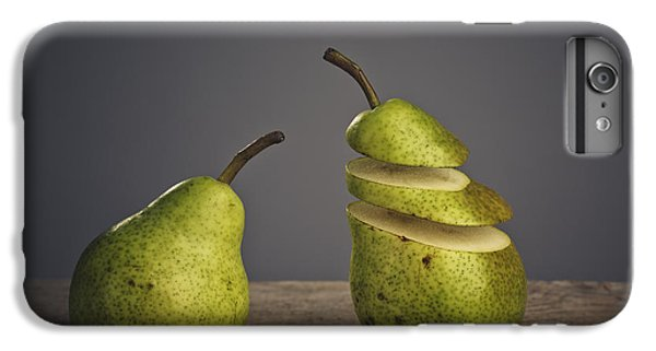 Pear iPhone 6s Plus Case - Sliced by Nailia Schwarz