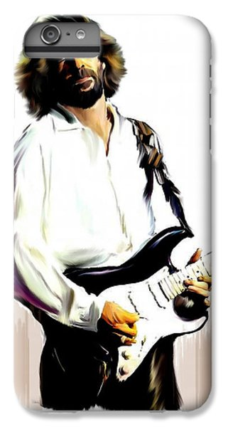 Eric Clapton iPhone 6s Plus Case - Slow Hand  Eric Clapton by Iconic Images Art Gallery David Pucciarelli