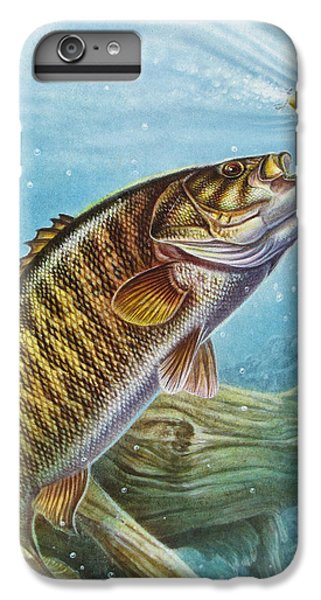 Smallmouth Bass iPhone 6s Plus Case - Smallmouth Bass by JQ Licensing