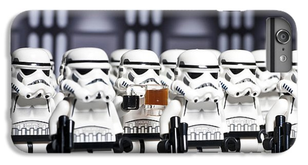 Star iPhone 6s Plus Case - Sneaky Beer by Samuel Whitton