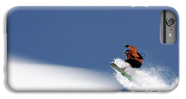 Explosion iPhone 6s Plus Case - Snowboarder by Evgeny Vasenev