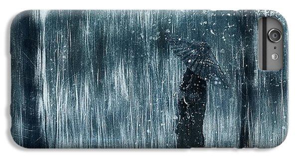 Umbrella iPhone 6s Plus Case - Snowfall by Svetlana Melik-nubarova