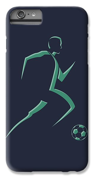 Soccer iPhone 6s Plus Case - Soccer Player1 by Joe Hamilton