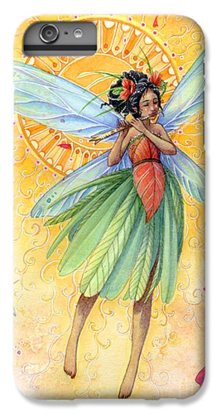 Flower Fairy iPhone 6s Plus Case - Song Of Summer by Sara Burrier
