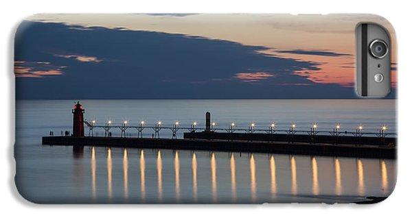 Lake Michigan iPhone 6s Plus Case - South Haven Michigan Lighthouse by Adam Romanowicz