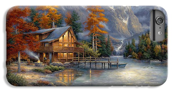 Space For Reflection IPhone 6s Plus Case by Chuck Pinson
