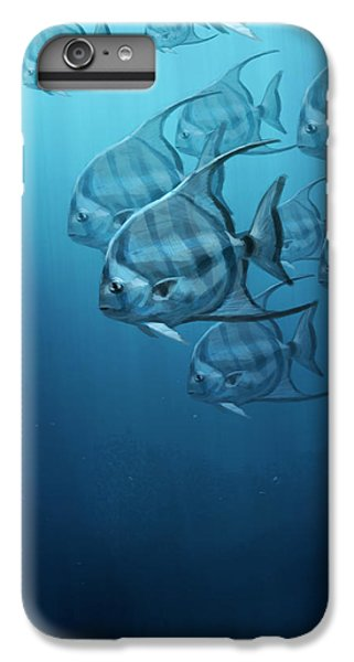 Fish iPhone 6s Plus Case - Spade Fish by Aaron Blaise