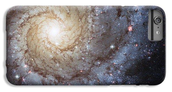 Spiral Galaxy M74 IPhone 6s Plus Case by Adam Romanowicz