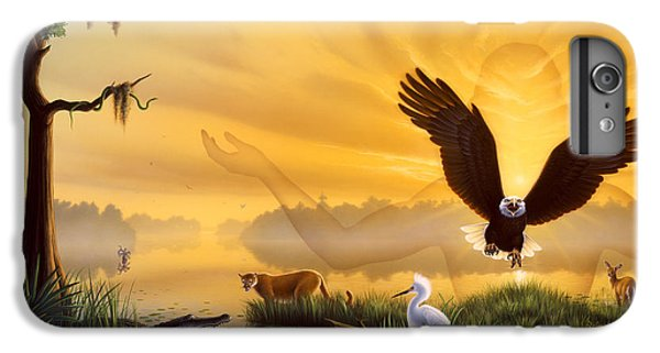 Spirit Of The Everglades IPhone 6s Plus Case by Jerry LoFaro
