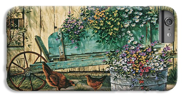 Chicken iPhone 6s Plus Case - Spring Social by Michael Humphries