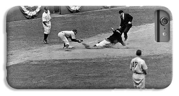 Spud Chandler Is Out At Third In The Second Game Of The 1941 Wor IPhone 6s Plus Case by Underwood Archives