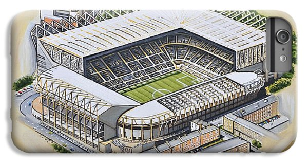 Magpies iPhone 6s Plus Case - St  James Park - Newcastle United by D J Rogers