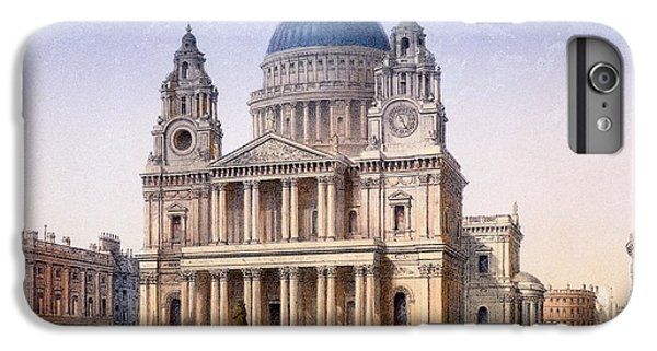 Wren iPhone 6s Plus Case - St Pauls Cathedral by Achille-Louis Martinet