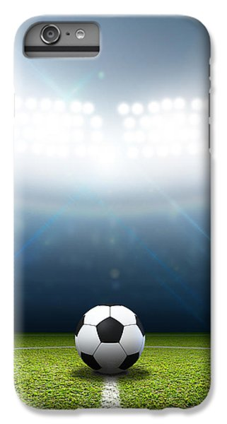 Stadium And Soccer Ball IPhone 6s Plus Case by Allan Swart