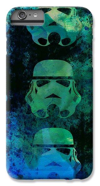 Star iPhone 6s Plus Case - Star Warriors Watercolor 1 by Naxart Studio
