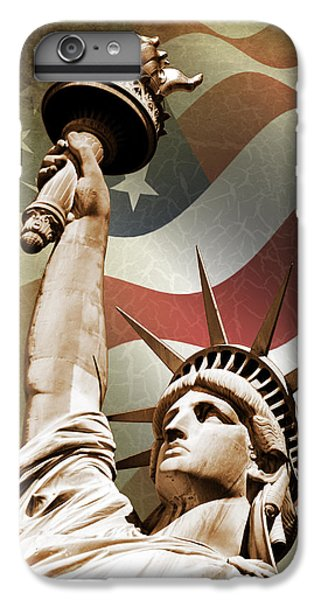 Statue Of Liberty IPhone 6s Plus Case by Mark Rogan