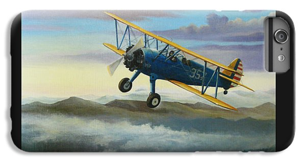 Airplane iPhone 6s Plus Case - Stearman Biplane by Stuart Swartz