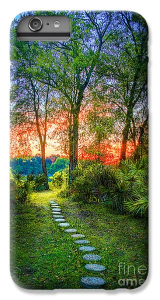 Cabbage iPhone 6s Plus Case - Stepping Stones To The Light by Marvin Spates