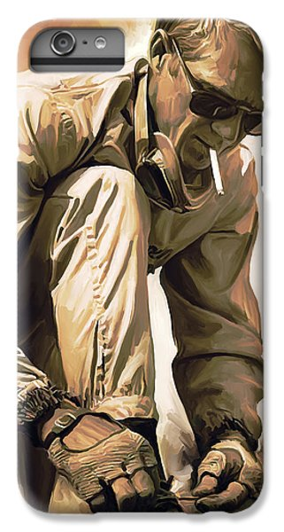 Steve Mcqueen Artwork IPhone 6s Plus Case by Sheraz A