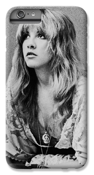 White iPhone 6s Plus Case - Stevie Nicks by Georgia Fowler