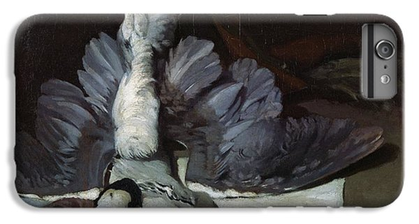 Magpies iPhone 6s Plus Case - Still-life Heron With Spread Wings, 1867 Oil On Canvas by Alfred Sisley