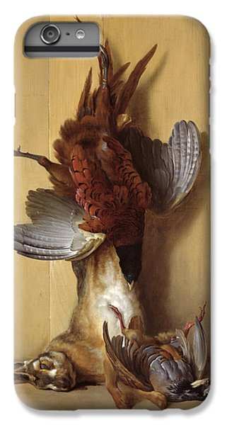 Still Life With A Hare, A Pheasant And A Red Partridge IPhone 6s Plus Case by Jean-Baptiste Oudry