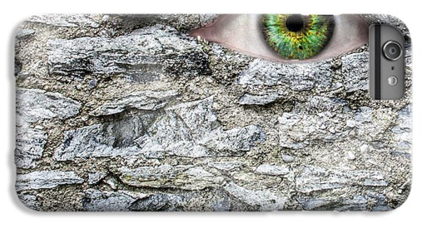 Stone Face IPhone 6s Plus Case by Semmick Photo