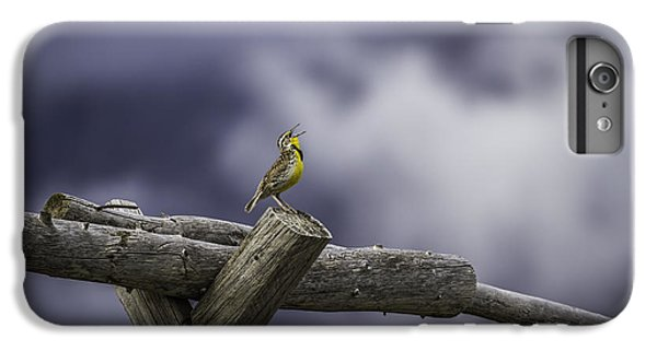 Stormy Weather And A Sweet Song IPhone 6s Plus Case by Thomas Young