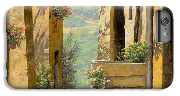 Landscape iPhone 6s Plus Case - stradina a St Paul de Vence by Guido Borelli