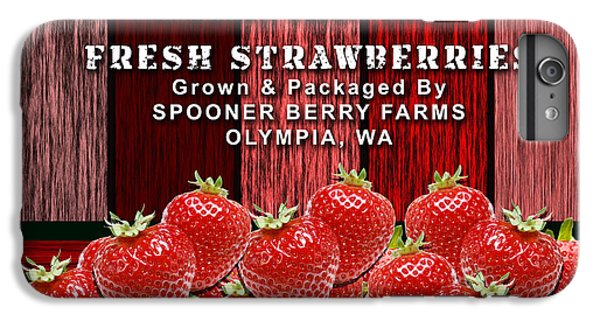 Strawberry Farm IPhone 6s Plus Case by Marvin Blaine