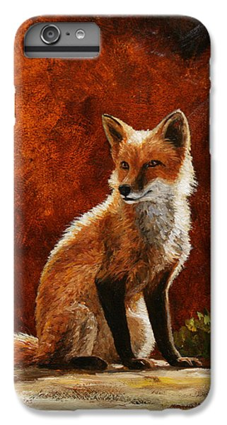 Sun Fox IPhone 6s Plus Case by Crista Forest